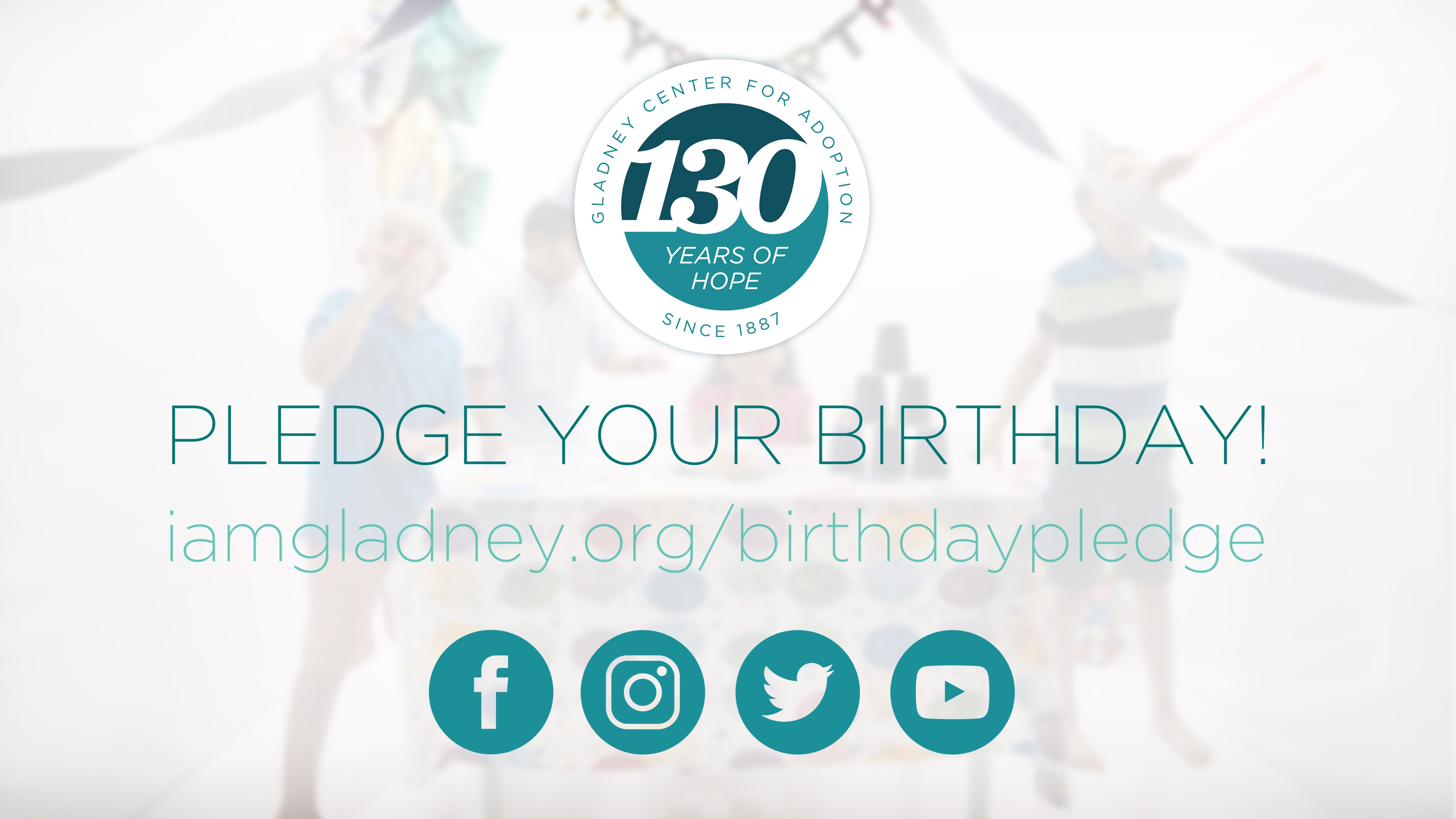 Pledge Your Birthday