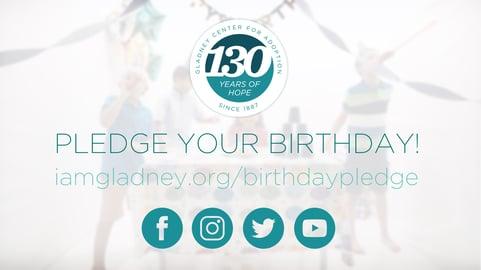 Pledge Your Birthday