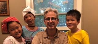 Dwight and Kiddos May 18