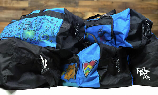 Duffel Bags for Foster Kids
