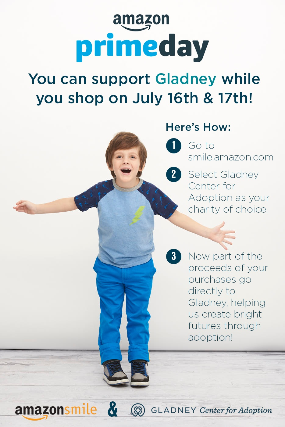 AmazonSmile & Gladney