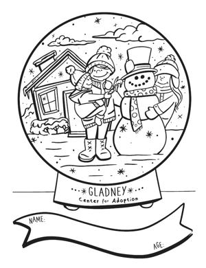 Gladney Holiday Artwork Contest
