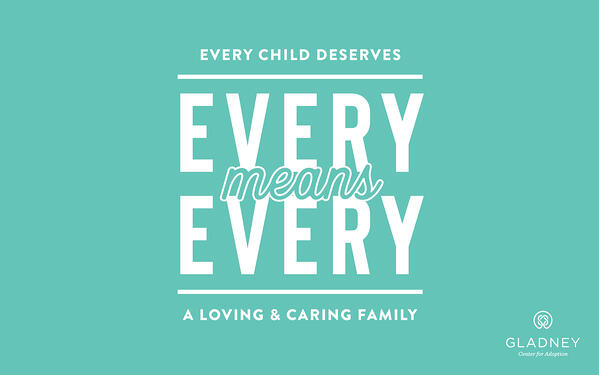 Every child deserves a loving and caring family.